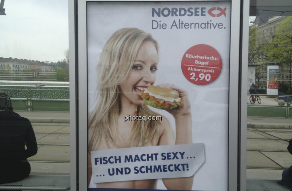 Nordsee-Plakat: Fisch macht sexy und schmeckt! (21.04.2013)