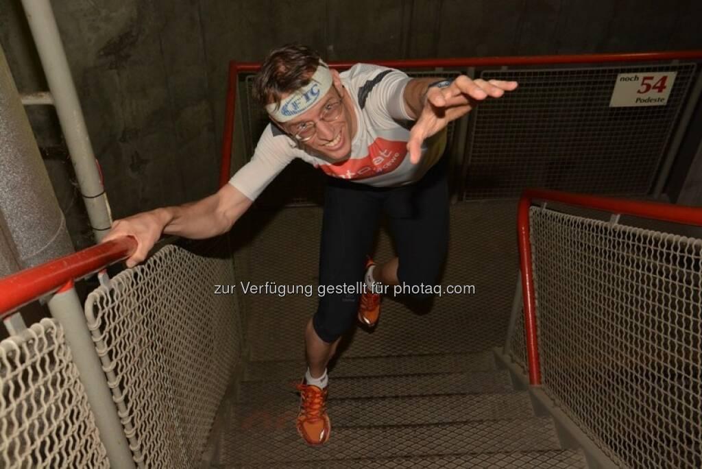 Rolf Majcen wird 50 : Treppenlauf am 7. August im chinesischen Nanjing auf den 440 Meter hohen Zifeng-Tower : Fotocredit: Rolf Majcen, © Aussendung (21.07.2016)