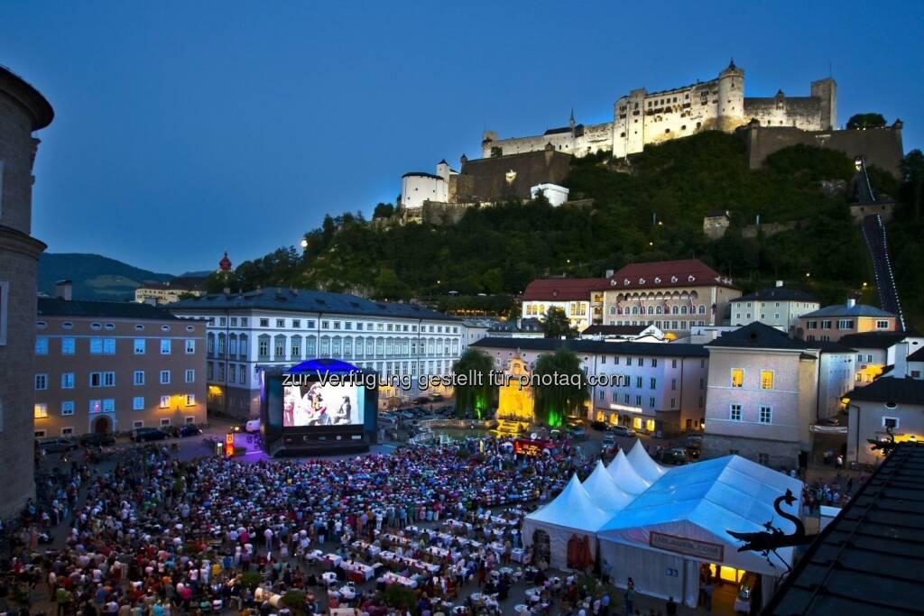 Kapitelplatz, Salzburg : 15 Jahre Siemens Fest>Spiel>Nächte in Salzburg : Fotocredit: Siemens AG (26.07.2016)