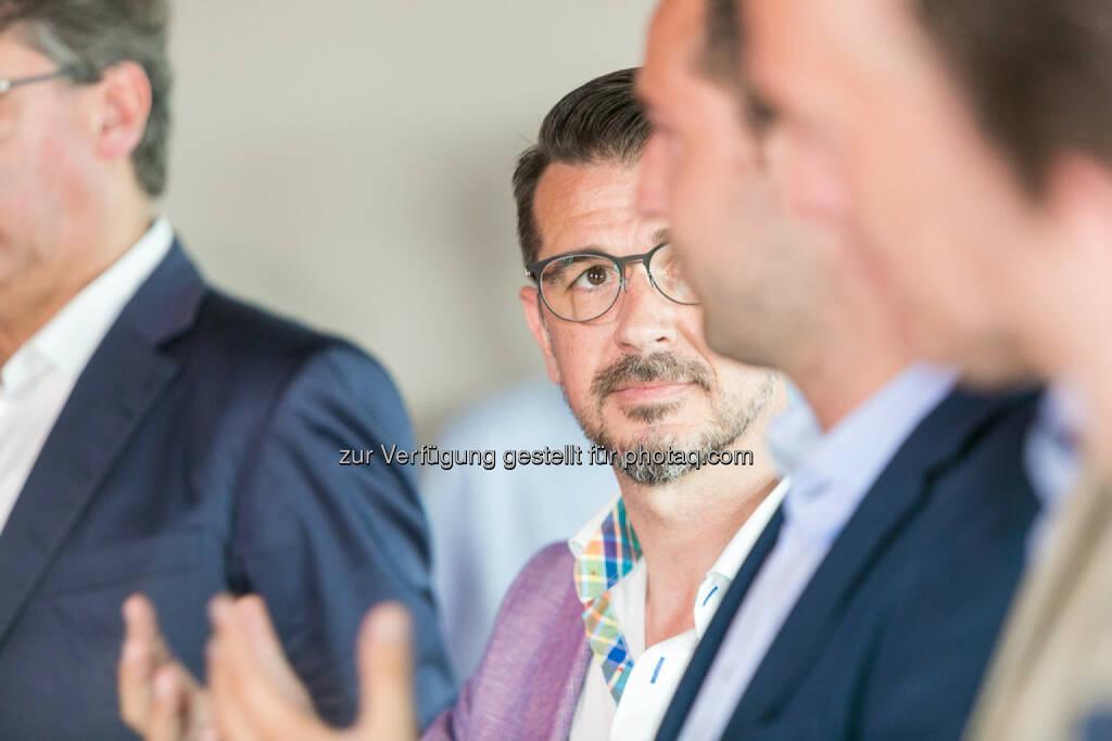 Stefan Pierer (CEO KTM Industries), Roman Sindelar, Stefan Schnöll, © Martina Draper (27.07.2016)