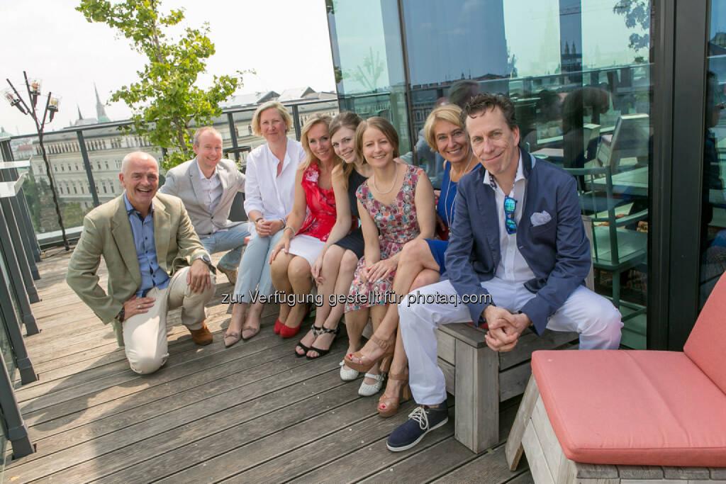 PR Team Himmelhoch und Team 361 Focus (Alex Vogel, Claus Westermayer, Birgit Lukl, Ulrike Mülleder, Philip Rusch), © Martina Draper (27.07.2016)