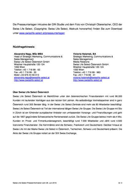 Swiss Life Select:  GfK-Studie zur Steuerreform, Seite 3/3, komplettes Dokument unter http://boerse-social.com/static/uploads/file_1520_swiss_life_select_gfk-studie_zur_steuerreform.pdf (28.07.2016)