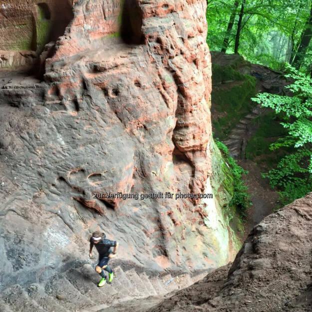 Florian Neuschwander: Wisst ihr wo ich heute unterwegs war? Echt Amok geile Trails hier!, © Florian Neuschwander (04.08.2016)