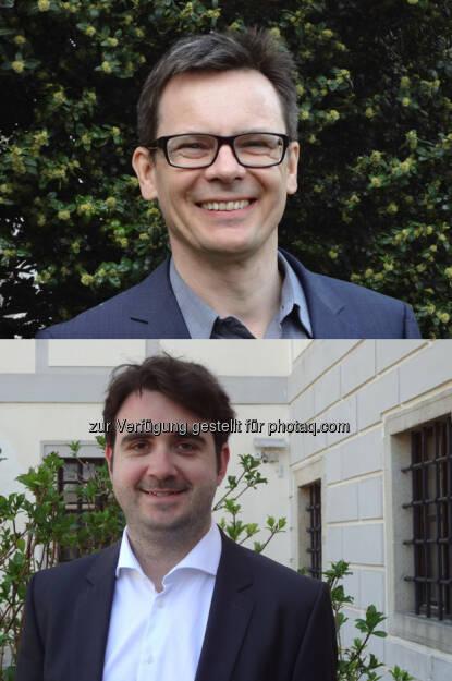René Böheim und Mario Lackner (Institut für VWL/Abteilung Arbeitsmarktökonomie, JKU) : Risikoforschung: Männer haben höhere Risikobereitschaft als Frauen : Fotocredit: JKU, © Aussender (04.08.2016)