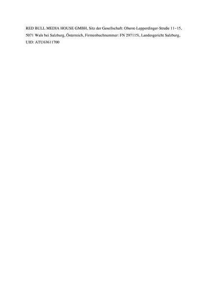 The Red Bulletin mit den Oberösterreichischen Nachrichten, Seite 2/2, komplettes Dokument unter http://boerse-social.com/static/uploads/file_1576_the_red_bulletin_mit_den_oberosterreichischen_nachrichten.pdf (08.08.2016)