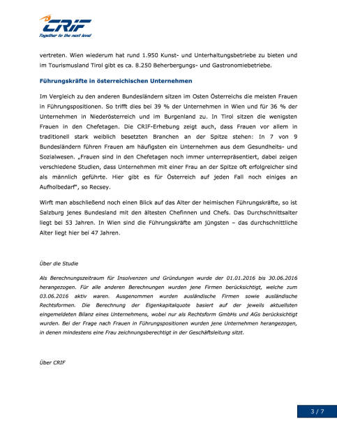 CRIF: Österreichische Unternehmen im Focus, Seite 3/7, komplettes Dokument unter http://boerse-social.com/static/uploads/file_1578_crif_osterreichische_unternehmen_im_focus.pdf (08.08.2016)