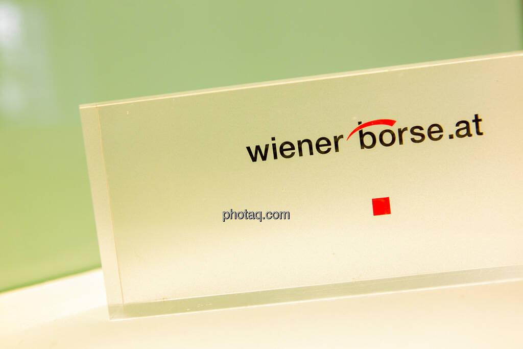 Wiener Börse, Aufsteller, © Martina Draper (23.04.2013)