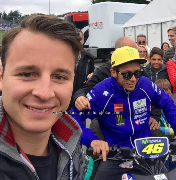 Matthias Stelzmüller, Valentino Rossi (12.08.2016)