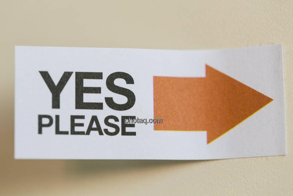 Ja, bitte!, © finanzmarktfoto/Martina Draper (24.04.2013)