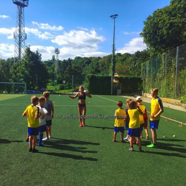 Training Elisabeth Niedereder, © Elisabeth Niedereder (27.08.2016)