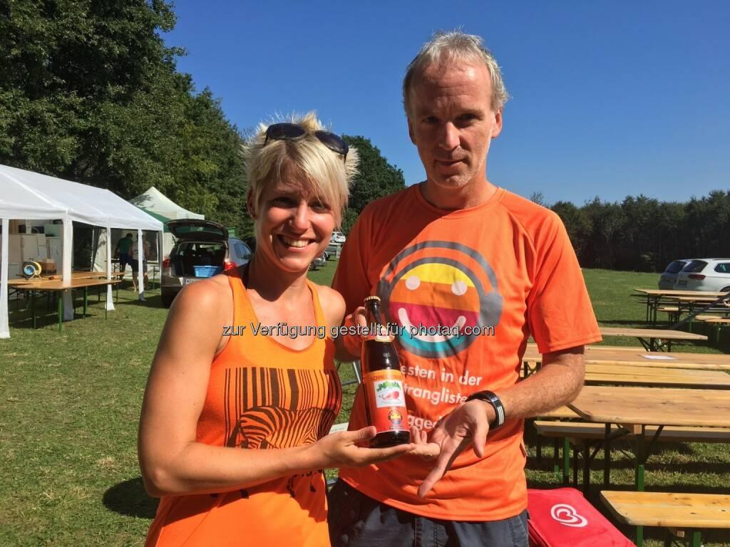 Lilian Kuster, Christian Drastil, Schneckenbier (27.08.2016)