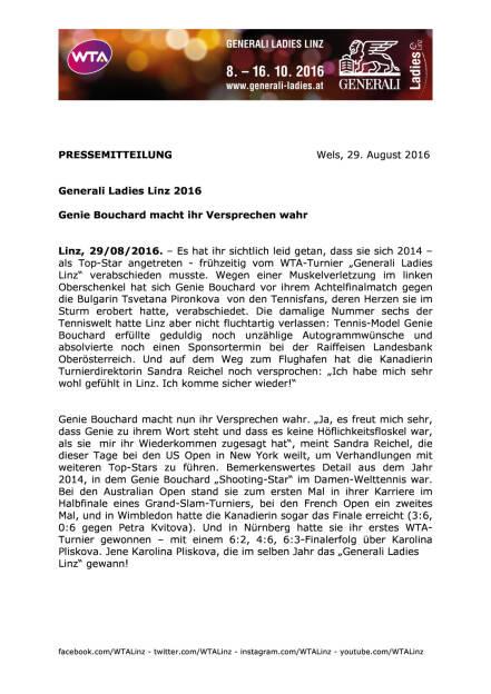 Generali Ladies Linz 2016 , Seite 1/2, komplettes Dokument unter http://boerse-social.com/static/uploads/file_1683_generali_ladies_linz_2016.pdf (29.08.2016)