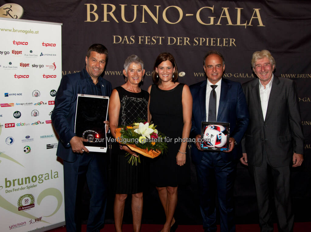 Gernot Zirngast, VDF, Sylvia Pezzey, Raphaela Pezzey, Hansi Müller, Rudi Nowotny (VDF) (Bild: VDF / Michael Graf) (30.08.2016)
