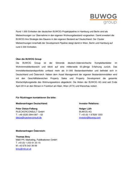 Buwog baut Projektentwicklungspipeline im Geschäftsjahr 2015/16 massiv aus, Seite 2/2, komplettes Dokument unter http://boerse-social.com/static/uploads/file_1695_buwog_baut_projektentwicklungspipeline_im_geschaftsjahr_201516_massiv_aus.pdf (31.08.2016)