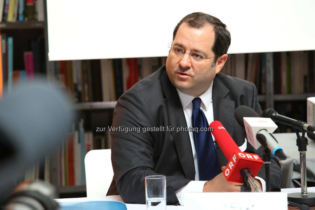 Daniel Riedl (CEO), © Buwog AG/APA-Fotoservice/Schedl (31.08.2016)