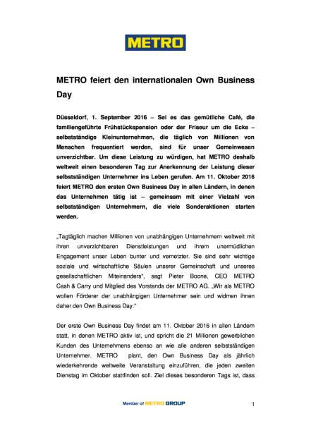 Metro feiert den internationalen Own Business Day, Seite 1/3, komplettes Dokument unter http://boerse-social.com/static/uploads/file_1708_metro_feiert_den_internationalen_own_business_day.pdf (01.09.2016)