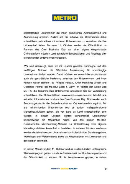 Metro feiert den internationalen Own Business Day, Seite 2/3, komplettes Dokument unter http://boerse-social.com/static/uploads/file_1708_metro_feiert_den_internationalen_own_business_day.pdf (01.09.2016)