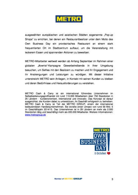 Metro feiert den internationalen Own Business Day, Seite 3/3, komplettes Dokument unter http://boerse-social.com/static/uploads/file_1708_metro_feiert_den_internationalen_own_business_day.pdf (01.09.2016)