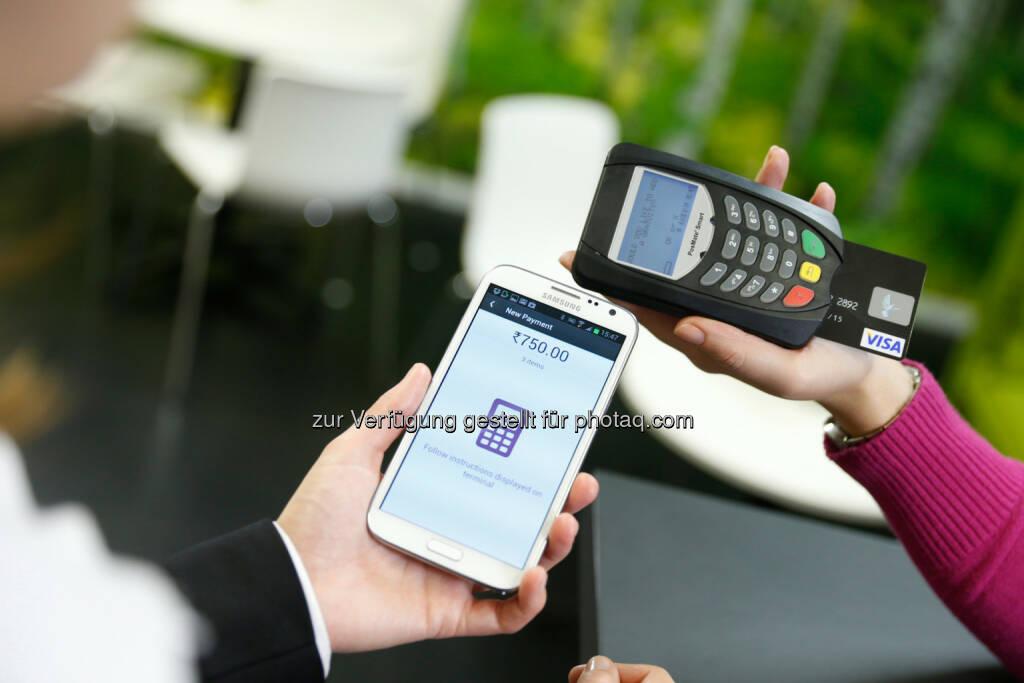 Bijlipay - Wirecard bringt mPOS-Lösung nach Indien: Mit Bijlipay bargeldlos bezahlen (Bild: Wirecard), © Aussender (01.09.2016)