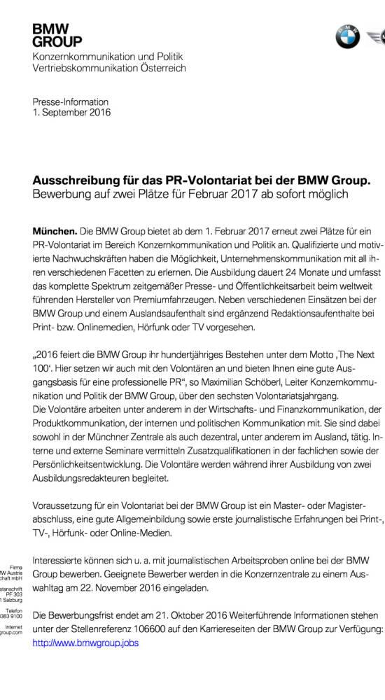 bmw group pr volontariat seite 12 komplettes dokument unter httpboerse socialcomstaticuploadsfile_1709_bmw_group_pr volontariatpdf bild 55217 - Bmw Online Bewerbung