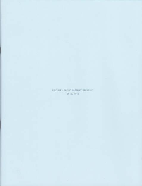 Zumtobel Group Geschäftsbericht 2015/16 - http://boerse-social.com/companyreports/show/zumtobel_group_geschaftsbericht_201516 (02.09.2016)