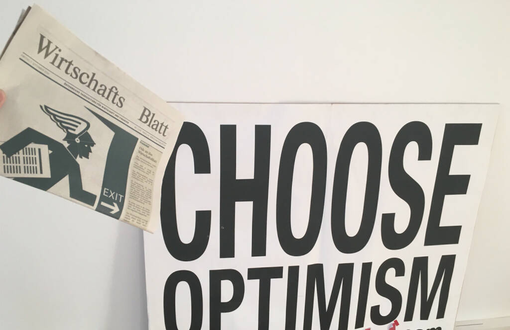 Choose Optimism WirtschaftsBlatt , © diverse photaq (02.09.2016)