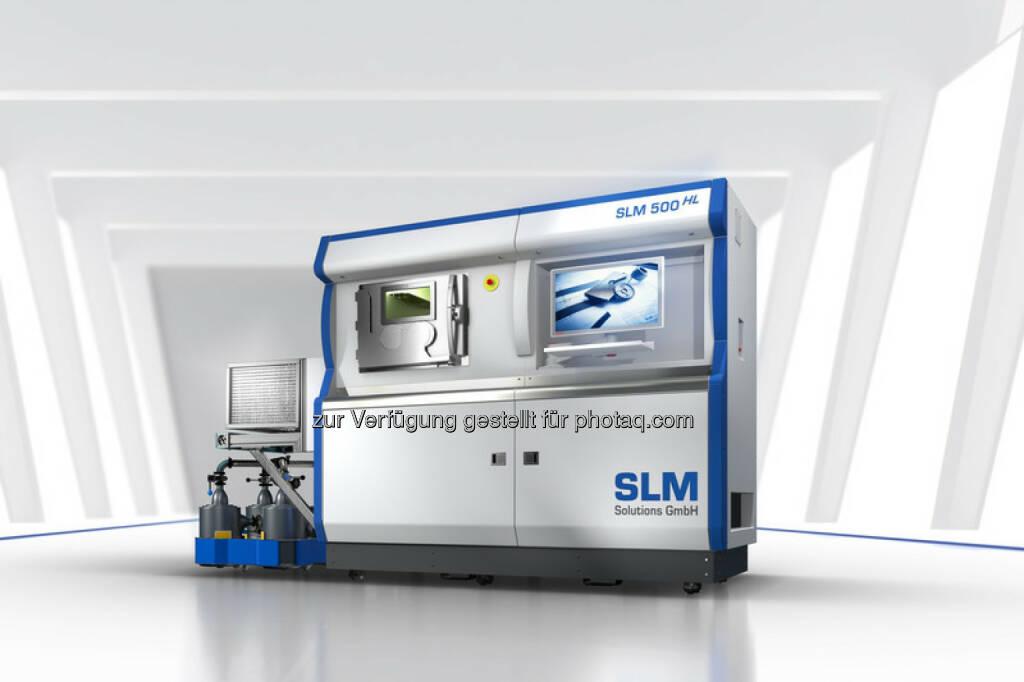 SLM Anlagen (Bild: SLM Solutions https://slm-solutions.de/presseportal/bildmaterial-slm-anlagen ), © Aussender (06.09.2016)