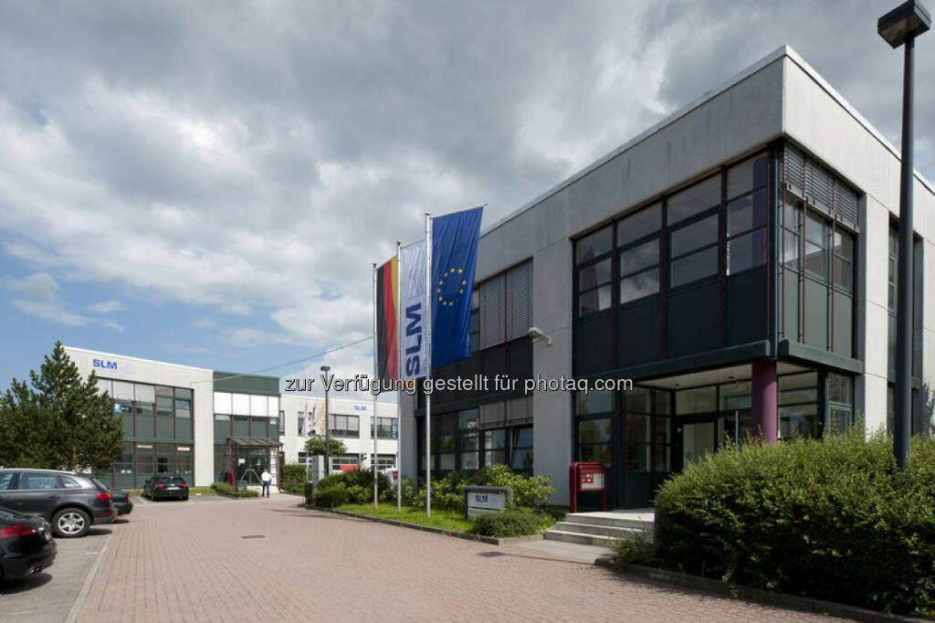 SLM Solutions Zentrale Lübeck (Bild: SLM Solutions https://slm-solutions.de/presseportal/bildmaterial-unternehmen ), © Aussender (06.09.2016)