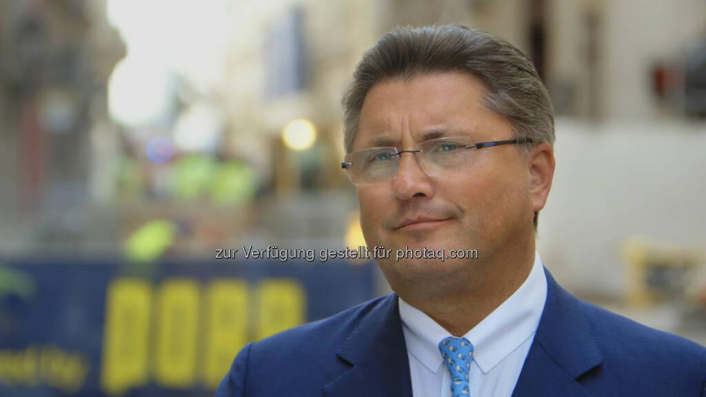 Karl-Heinz Strauss, CEO Porr (c) Porr (12.09.2016)