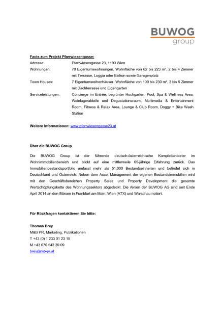 Buwog Gleichenfeier Wien Döbling, Seite 2/2, komplettes Dokument unter http://boerse-social.com/static/uploads/file_1767_buwog_gleichenfeier_wien_dobling.pdf (13.09.2016)