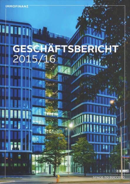 Immofianz Geschäftsbericht 2015/16 - http://boerse-social.com/companyreports/show/immofianz_geschaftsbericht_201516 (15.09.2016)