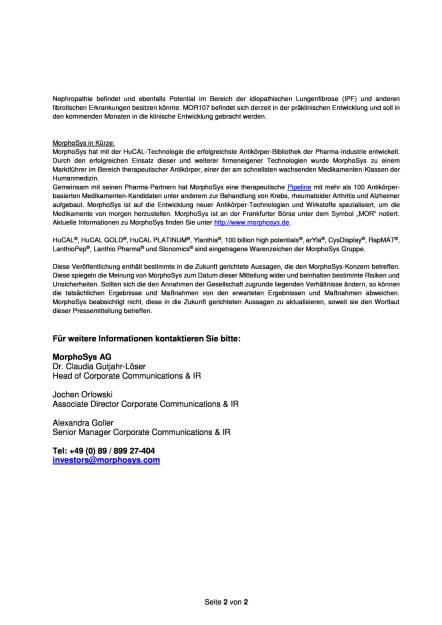 MorphoSys: Lanthio Pharma erweitert Management Team, Seite 2/2, komplettes Dokument unter http://boerse-social.com/static/uploads/file_1789_morphosys_lanthio_pharma_erweitert_management_team.pdf (19.09.2016)