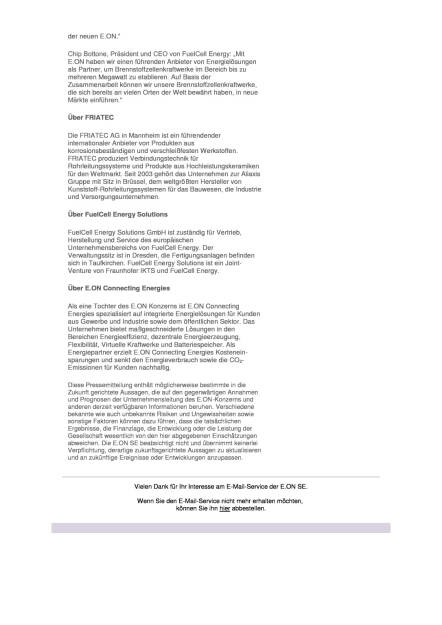 E.ON: Europas erste industrielle Megawatt-Brennstoffzelle geht offiziell in Betrieb, Seite 2/2, komplettes Dokument unter http://boerse-social.com/static/uploads/file_1794_eon_europas_erste_industrielle_megawatt-brennstoffzelle_geht_offiziell_in_betrieb.pdf (19.09.2016)