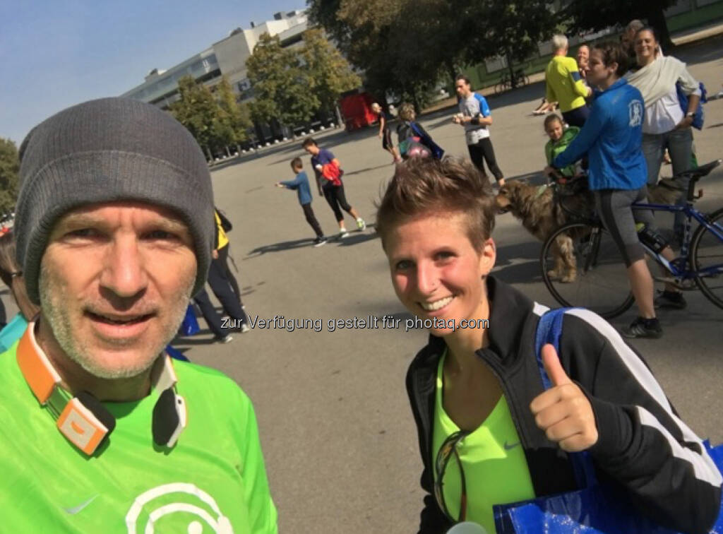 Mit Romana Neubauer, Team Arrow (25.09.2016)