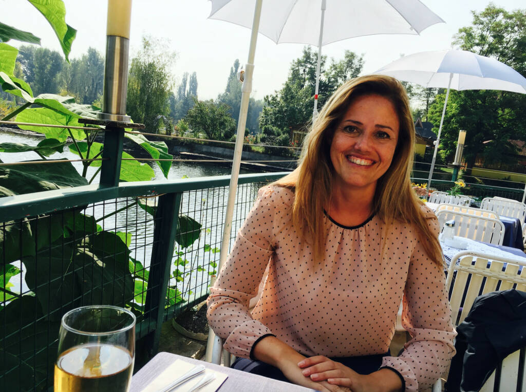 Mit Milena Ioveva (UBM) in der La Creperie (26.09.2016)
