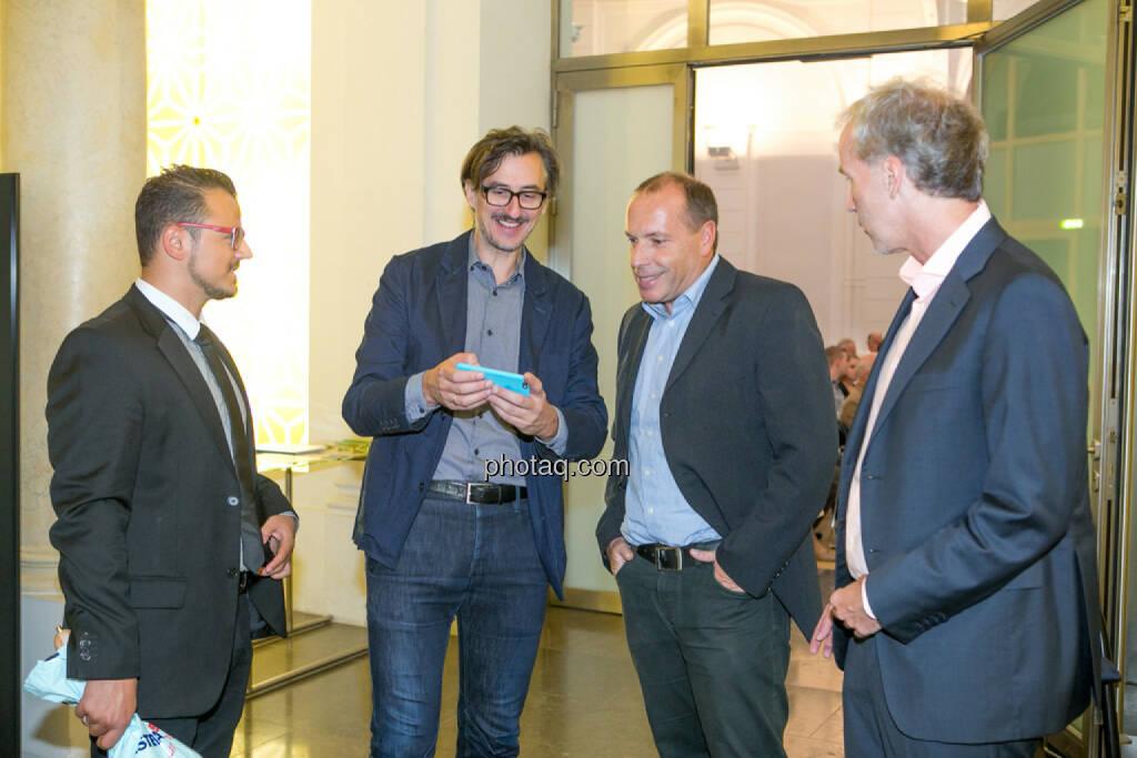 Michael Plos (BSN), Josef Chladek (BSN), Christian Drastil (BSN), © Martina Draper/photaq (29.09.2016)