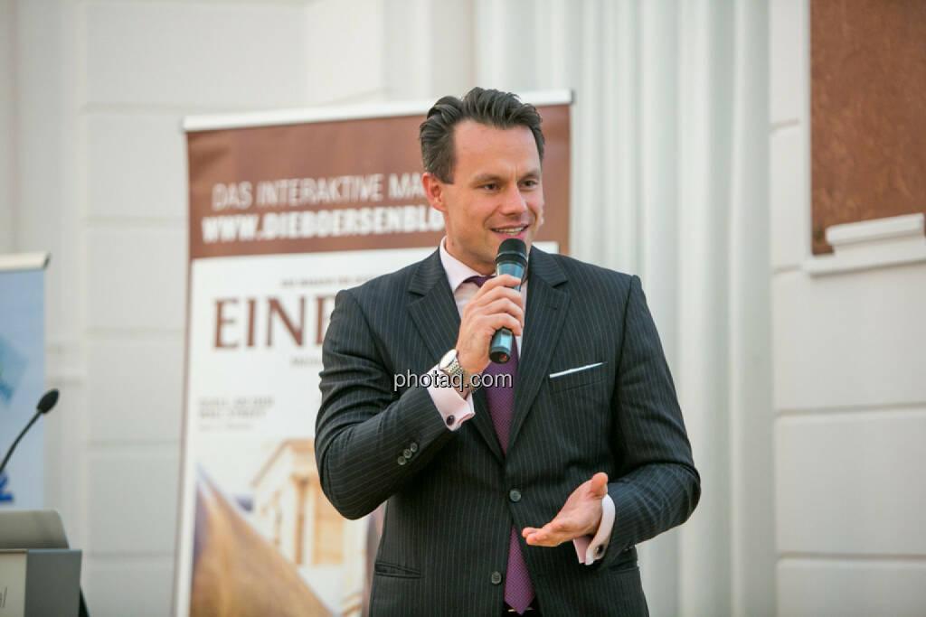 Christoph Boschan (Wiener Börse), © Martina Draper/photaq (29.09.2016)