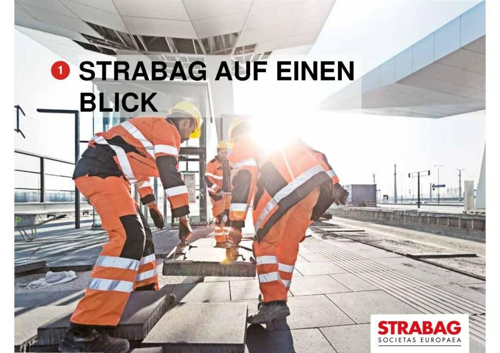 Strabag auf einen Blick (29.09.2016)