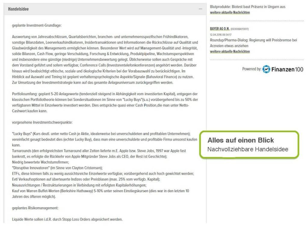 wikifolio.com - alles auf einen Blick (29.09.2016)