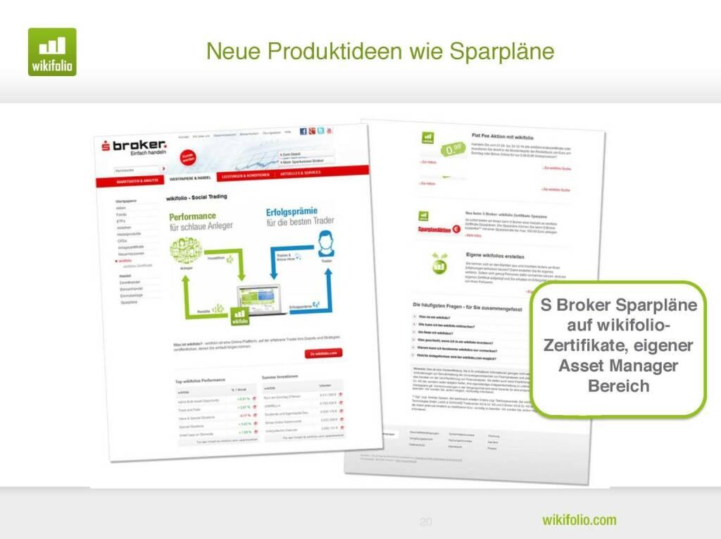 wikifolio.com - Produktideen wie Sparpläne (29.09.2016)
