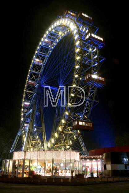 Riesenrad, Wien, © Martina Draper (15.12.2012)