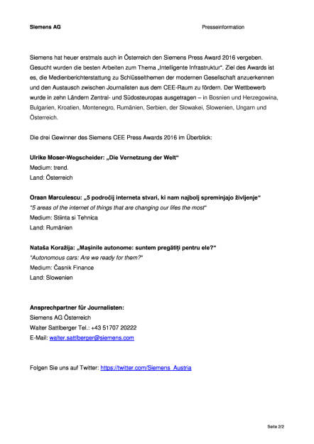 Siemens CEE Press Award 2016, Seite 2/2, komplettes Dokument unter http://boerse-social.com/static/uploads/file_1864_siemens_cee_press_award_2016.pdf (30.09.2016)