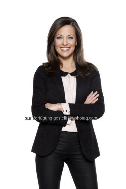 Wahl-Spezial mit Sondersendungen am 28.4.: Puls 4 berichtet umfangreich zu der Landtagswahl in Tirol - News-Anchor-Woman Gundula Geiginger (c) Puls4 / Gerry Frank   (26.04.2013)
