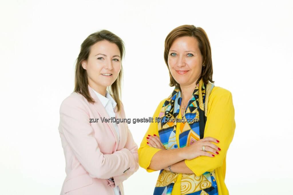 Theresa Häupl (Key Account Managerin) und Darja Kossmann (Marketing) verstärken das Österreich-Team bei Laundry & Home Care Fotocredit: Henkel/Tanzer, © Aussender (03.10.2016)
