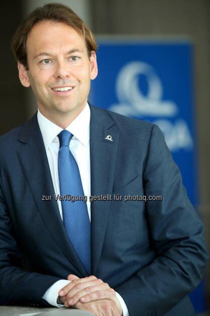 Andreas Brandstetter, CEO Uniqa Insurance Group : Verschmelzung der operativen Erstversicherer in Österreich schneller als geplant umgesetzt : Fotocredit: Uniqa, © Aussender (03.10.2016)