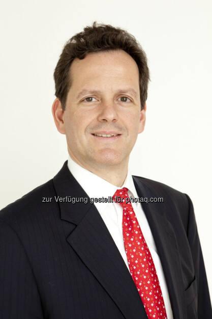 Andreas Bayerle ist neuer Vorstand für Finanzen und Leben bei Helvetia Österreich : Fotocredit: Helvetia, © Aussender (03.10.2016)