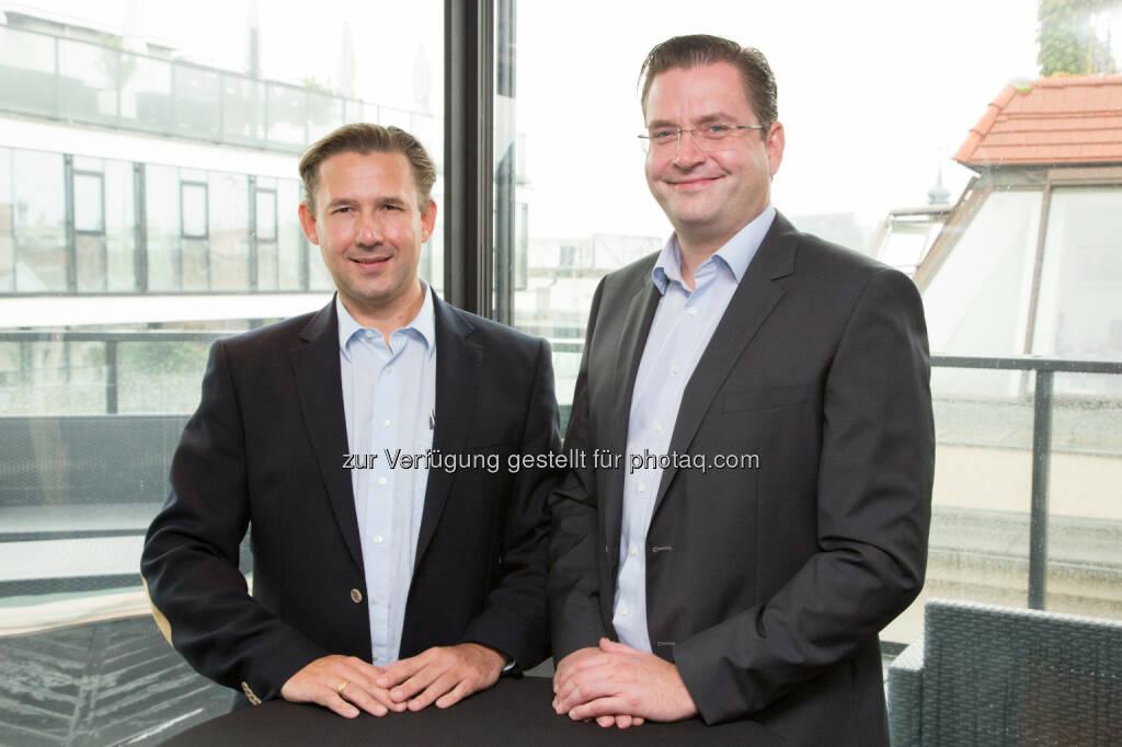 Christian Pedak (CEO), Roland Pedak (CRO) : LAMIE direkt, Österreichs erste reine Online Versicherung, setzt seit einem Jahr neue Maßstäbe in puncto Transparenz und Preis-Leistungs-Verhältnis bei Haushaltversicherungen in Österreich : Fotocredit: L'AMIE AG/APA-Fotoservice/Juhasz, © Aussender (04.10.2016)