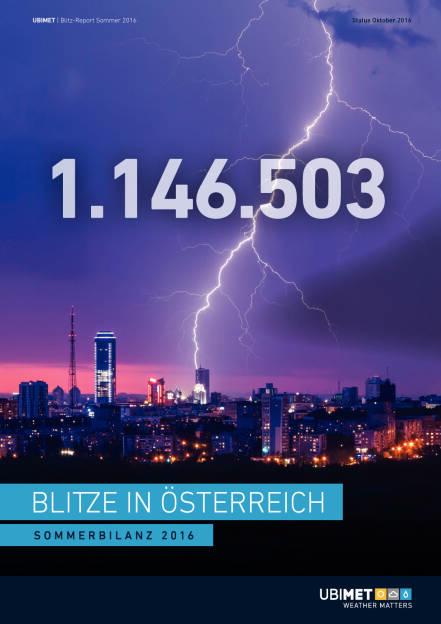 Uniqa/Ubimet: Blitzreport Österreich, Seite 1/12, komplettes Dokument unter http://boerse-social.com/static/uploads/file_1901_uniqaubimet_blitzreport_osterreich.pdf (14.10.2016)