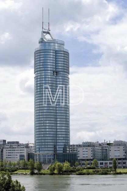 Millennium-Tower, Wien, © Martina Draper (15.12.2012)