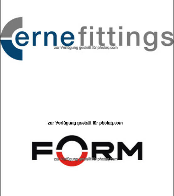 Logo Darstellung Erne Fittings GesmH, Logo Darstellung Erne Fittings Form Group : Verkauf ERNE Group - Gesellschafter der ERNE Group treten ihre Anteile ab – Neueigentümer Stephan Zöchling plant Neuausrichtung für den internationalen Industriekonzern : Fotocredit: Erne Fittings GesmbH / Form Group, © Aussendung (18.10.2016)